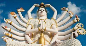 Budha de los 18 brazos