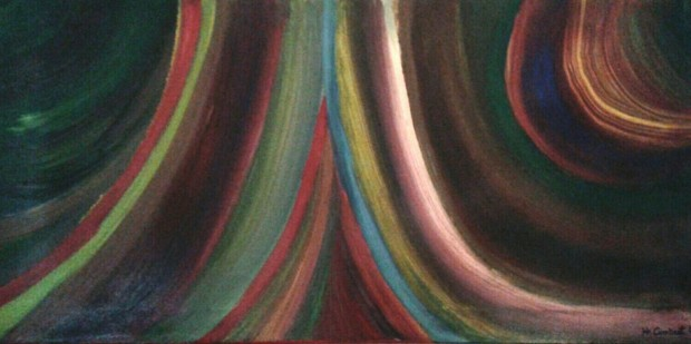 Cortina de colores